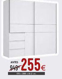 Oferta de Armarios por 255€