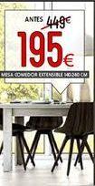 Oferta de Mesa de comedor por 195€
