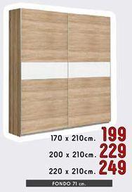 Oferta de Armarios 220 x 210 cm por 249€