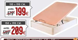Oferta de Canapés 150 x 190 cm por 209€