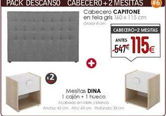 Oferta de Cabecero por 115€