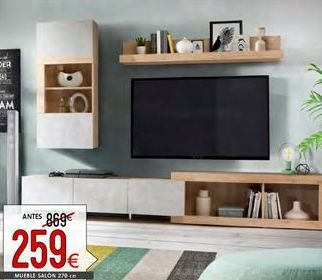 Oferta de Muebles de salón por 259€