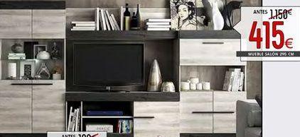 Oferta de Muebles de salón por 415€