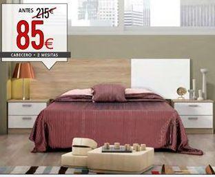 Oferta de Dormitorio de matrimonio por 85€