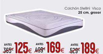 Oferta de Colchones 25 cm de grosor  por 189€