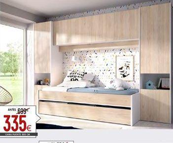 Oferta de Dormitorio juvenil por 335€