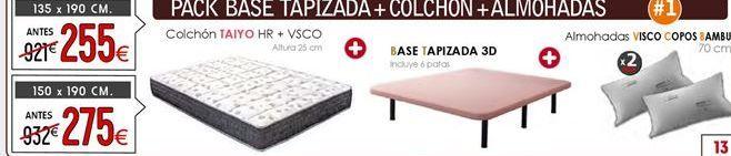 Oferta de Base de colchón 150 x 190 cm  por 275€