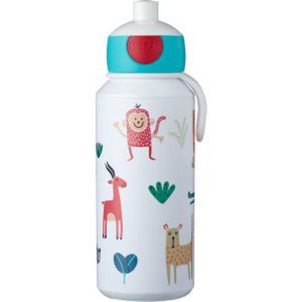 Oferta de Botella Pop-up Animals Friends 400ml Mepal por 11,95€