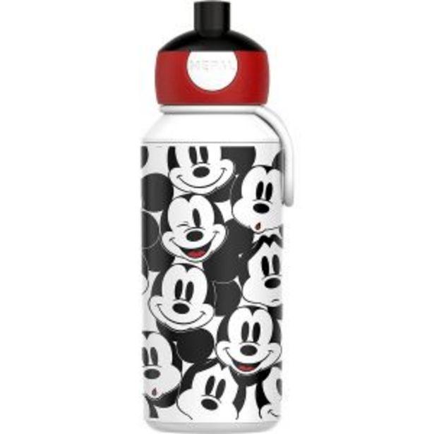 Oferta de Botella Pop-up Mickey Mouse 400ml Mepal por 11,95€