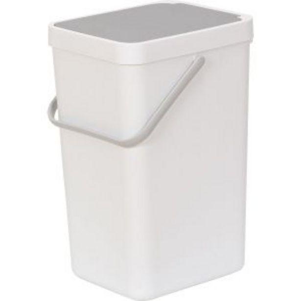 Oferta de Cubo de basura 18l Duett por 19,95€