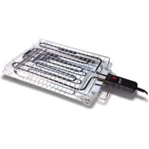 Oferta de Grill eléctrico New Alabama 2400w Haeger por 39,95€