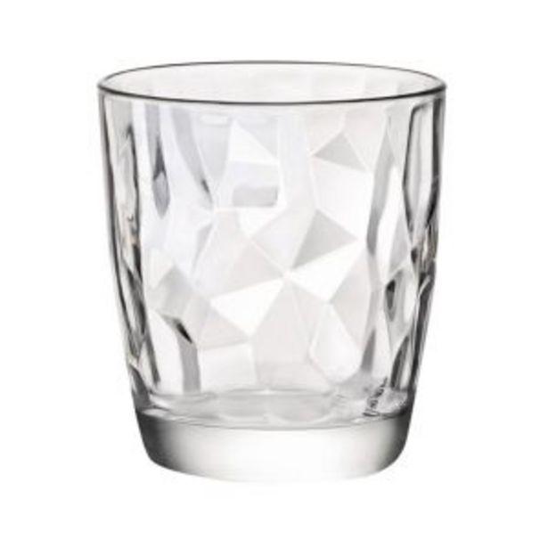 Oferta de Vaso Diamond 30cl Bormioli rocco por 1,45€
