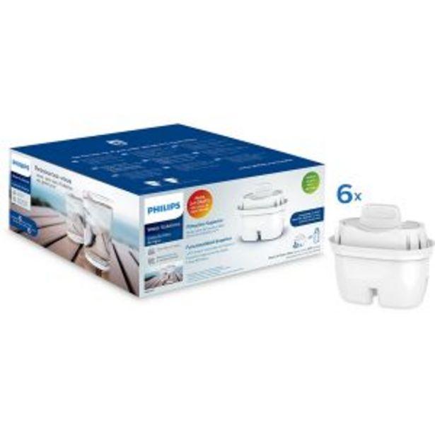 Oferta de Pack de 5 + 1 filtros Philips por 21,95€