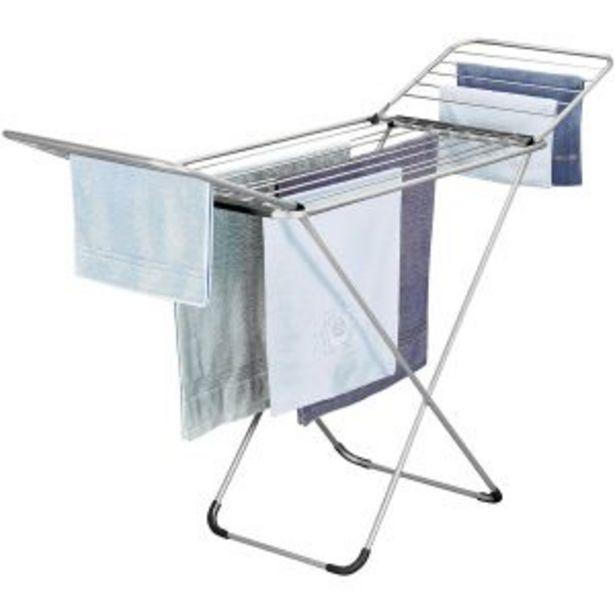 Oferta de Tendedero de aluminio con alas Metaltex por 34,95€