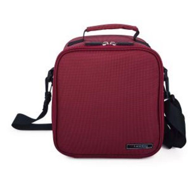 Oferta de Lunchbag Basic rojo + 2 contenedores Iris por 29,95€