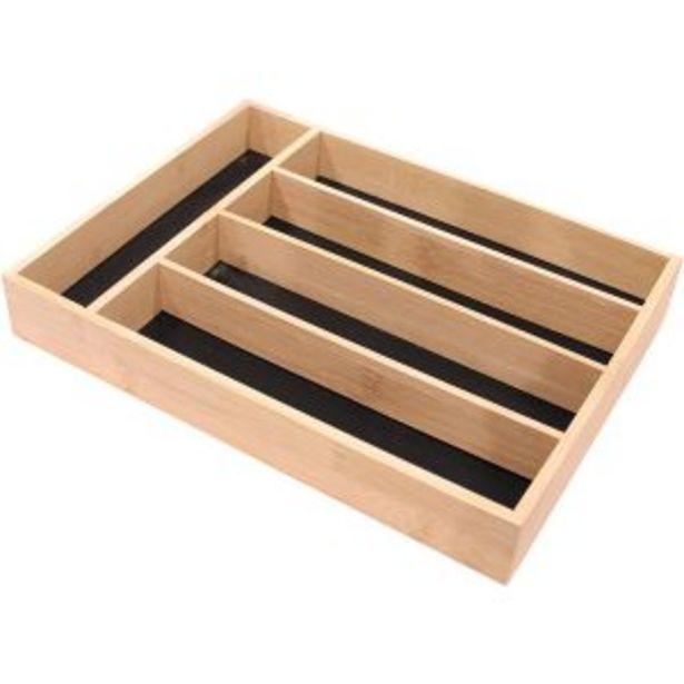 Oferta de Porta cubiertos madera Riera por 18,95€