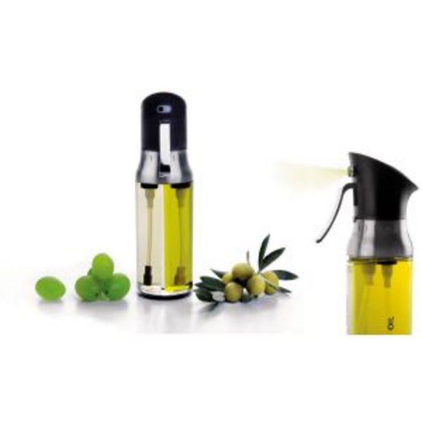 Oferta de Pulverizador doble aceite y vinagre Ibili por 15,95€