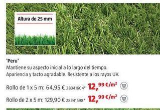 Oferta de Césped artificial por 12,99€