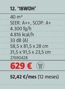 Oferta de Aire acondicionado por 629€