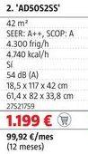Oferta de Aire acondicionado Haier por 1199€