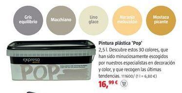 Oferta de Pintura plástica por 16,99€