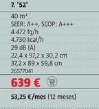 Oferta de Aire acondicionado por 639€