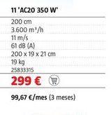 Oferta de Aire acondicionado por 299€
