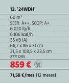 Oferta de Aire acondicionado por 859€