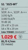 Oferta de Aire acondicionado Mitsubishi Electric por 1029€