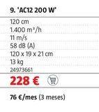 Oferta de Aire acondicionado por 228€