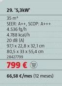 Oferta de Aire acondicionado Bosch por 799€