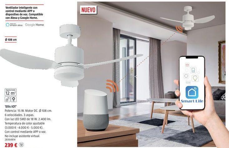 Oferta de Ventilador de techo por 239€