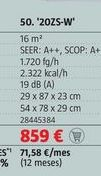 Oferta de Aire acondicionado Mitsubishi Electric por 859€
