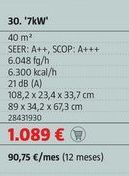 Oferta de Aire acondicionado Bosch por 1089€