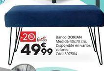 Oferta de Banco por 49,99€