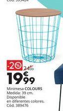 Oferta de Mesa Colours por 24,99€