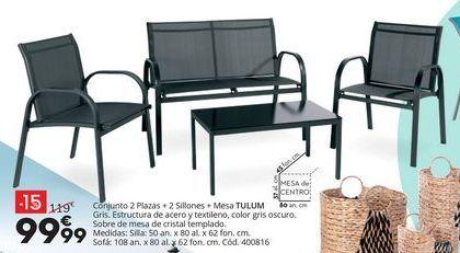 Oferta de Conjunto de jardín por 99,99€