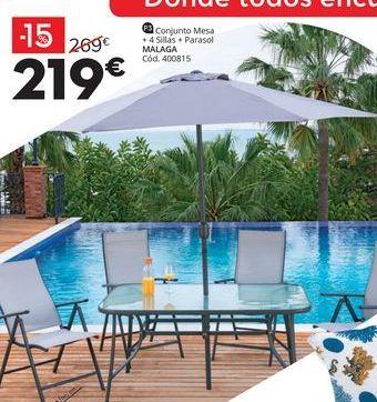 Oferta de Conjunto de jardín por 219€