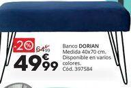 Oferta de Banqueta por 64,99€