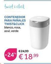 Oferta de Contenedor de pañales por 18,99€