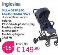 Oferta de Sillas de paseo Inglesina por 149,9€