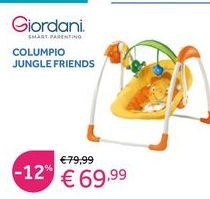 Oferta de Columpio baby Giordani por 69,99€