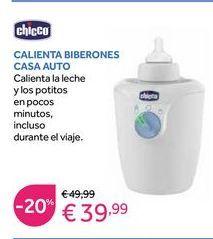 Oferta de Calienta biberones Chicco por 39,99€