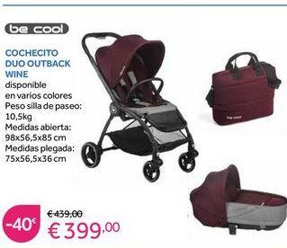 Oferta de Cochecitos Be Cool por 399€