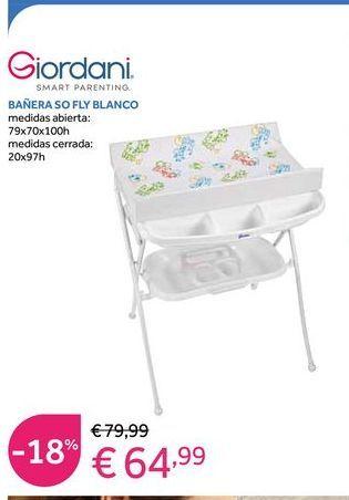 Oferta de Bañera de bebé Giordani por 64,99€
