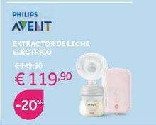 Oferta de Extractor de leche eléctrico Avent por 119,9€