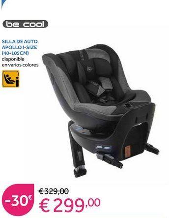 Oferta de Silla de coche Be Cool por 299€