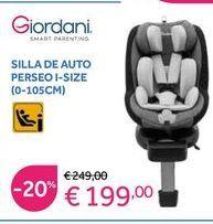 Oferta de Silla de coche Giordani por 199€