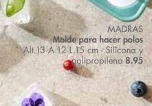 Oferta de Moldes para hacer polos MADRAS por 8,95€