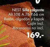 Oferta de Sillas colgante NEST  por 169€